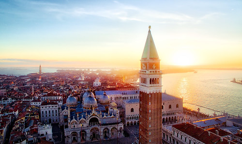 Saint Mark's Tower From Above | by Trey Ratcliff
