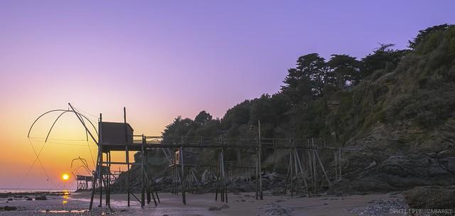 La Boutinardière. Sunset Fishery.
