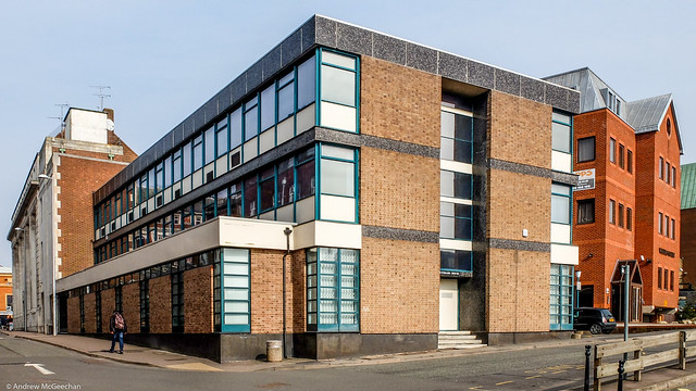 Coventry Newspapers Offices Greyfriars Lane (Redgrave & Clarke 1963)