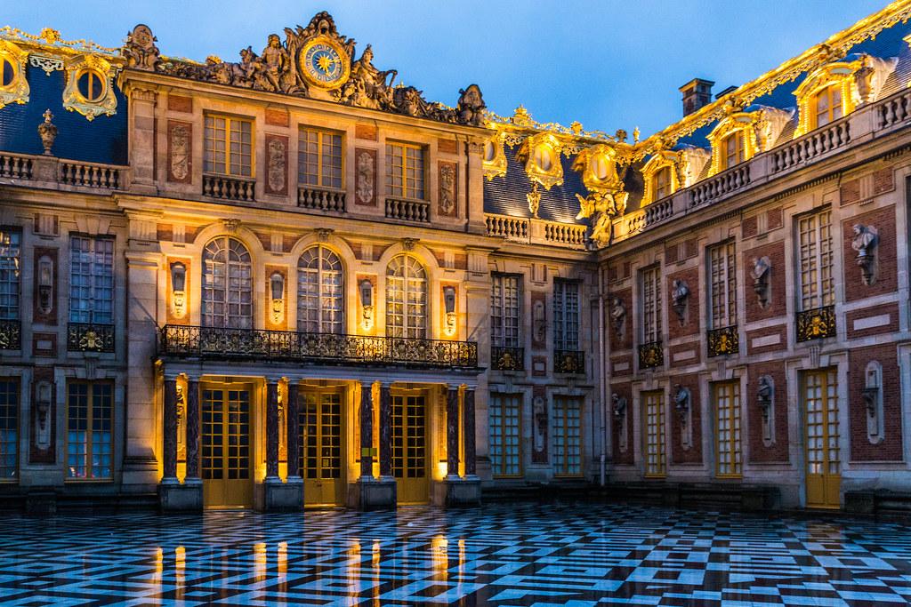 Versailles, France | Versailles, The Marble courtyard | Ninara ...