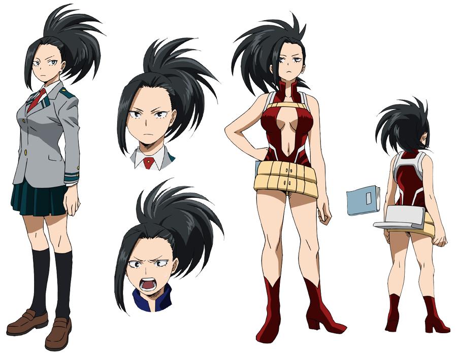 160201(2) -「井上麻里奈」主演八百万百、4月份電視動畫版《我的英雄學院》發表第四批聲優人選!