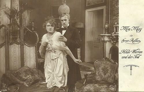 Mia May in Hilde Warren und der Tod (1917)