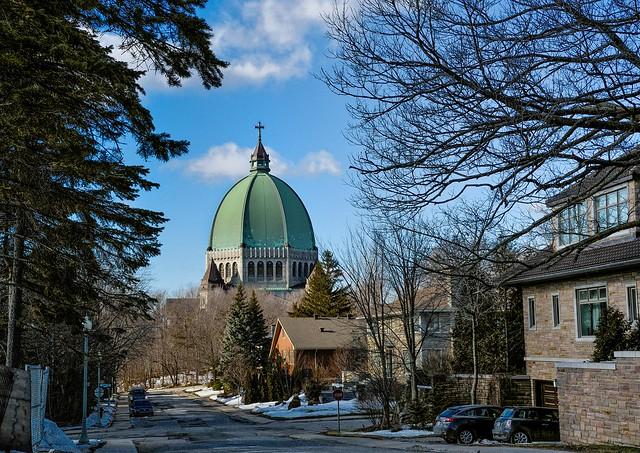 Vue arrière  Oratoire St-Joseph