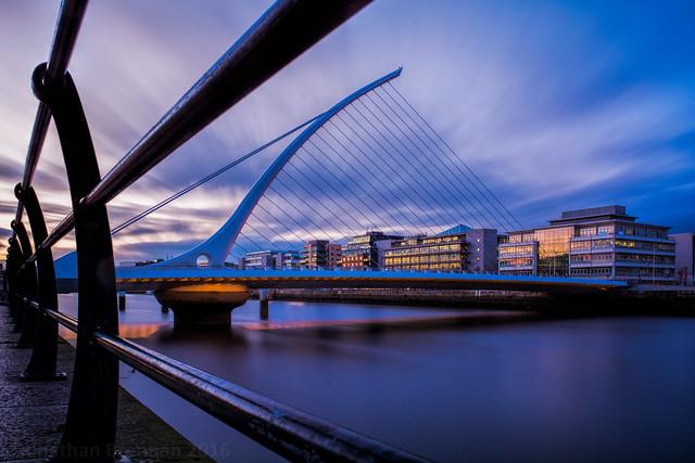 Dublin   |   Samuel Beckett Bridge