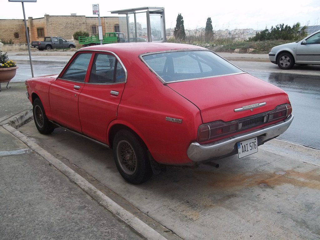 Armoured Vehicles Latin America ⁓ These Datsun 140j For Sale