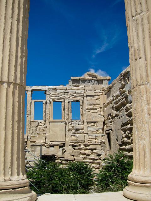 Acropolis windows