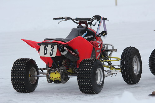 2.6.16 Otter Street Fishing Club/Beaver Cycle Club - studded ATV in pits | by royal_broil