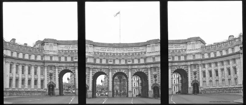 Admiralty Arch Triptych