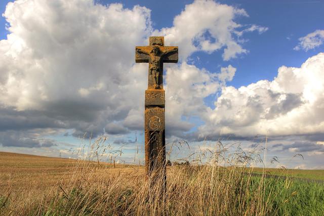 Altes Wegekreuz