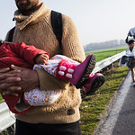 Refugees At Border Bottleneck