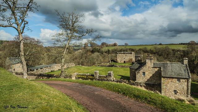 Craignethan Castle ... Scotland