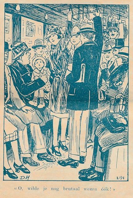 Jong Nederland 1927  Daan Hoeksema   ill      trampassagiers