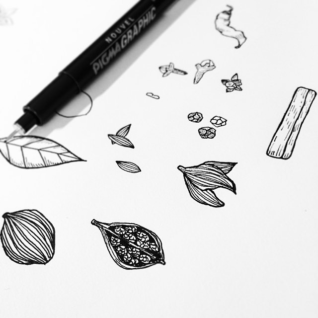 I'm designing logo for @marihiratsuka . She's launched her own accessory brand named