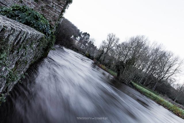 Furious river