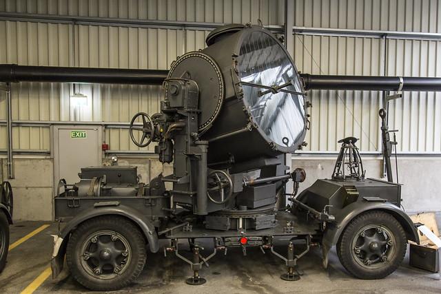 150 cm Flakscheinwerfer