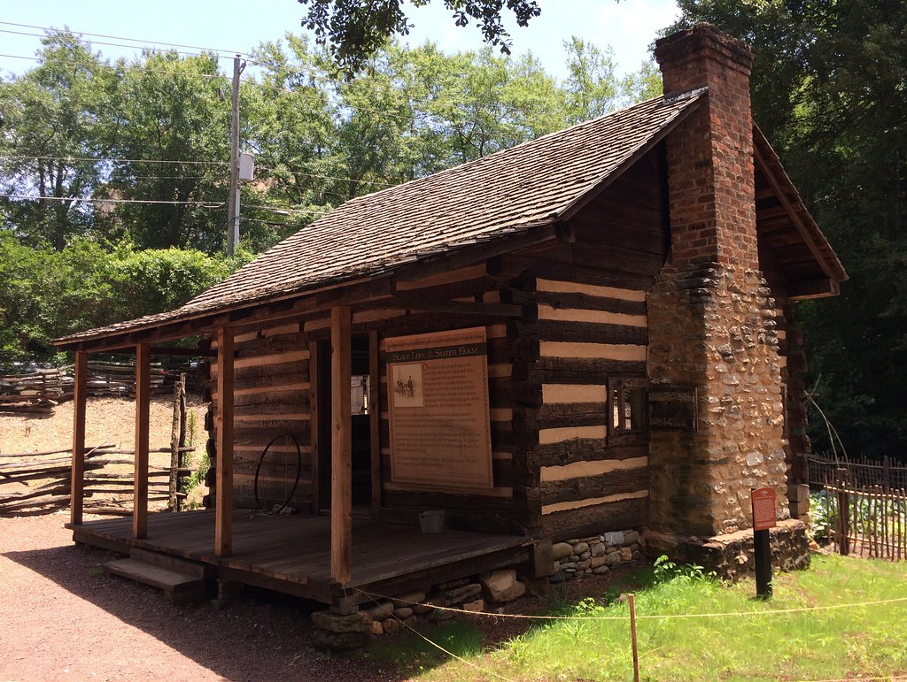 Atlanta - Atlanta History Center - Smith Family Farm - Slave Cabin