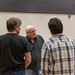 Ron Donachie, David Beames, John Dove, Richard Conlon and Phil Cairns in rehearsals for The Crucible, Lyceum Theatre