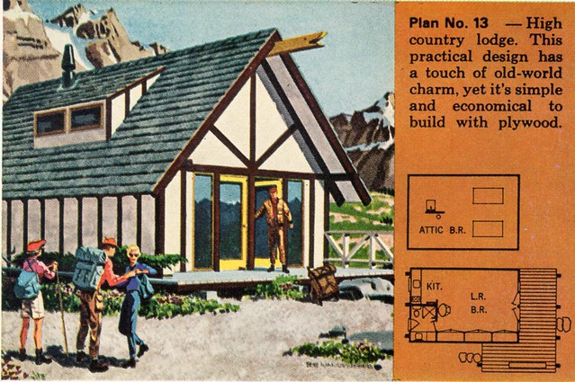 plywood homes