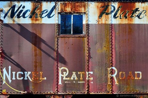 old railroad ny newyork car metal train paint side hamburg rusty railway historic caboose depot nickelplate etbtsy