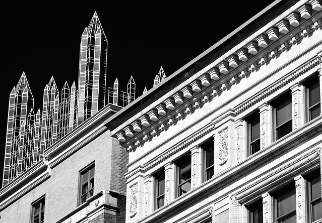 Sharp contrasts of an American City