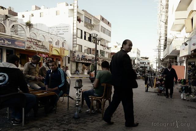 Hurghada street scene