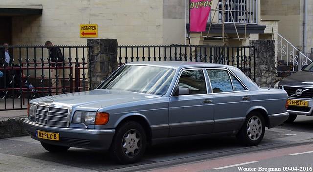 Mercedes W126 420SE V8 1986