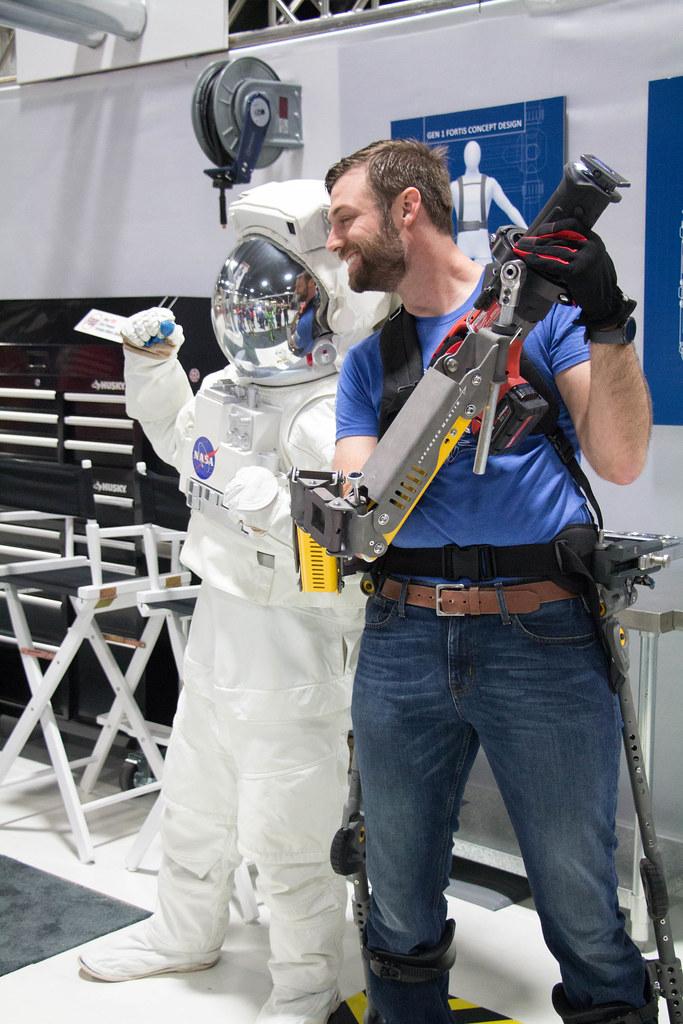 Astronaut & Bionic Man
