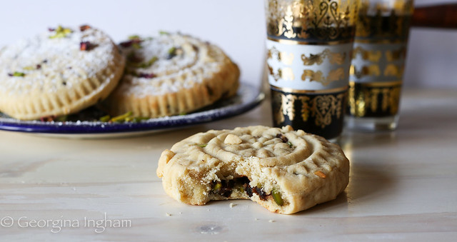 Work, Pleasure and a full stomach – Food and my travels in the UAE. A Culinary Travels Guest Post. The famous Arabaic Ma'amul Cookies for celebrating Eid