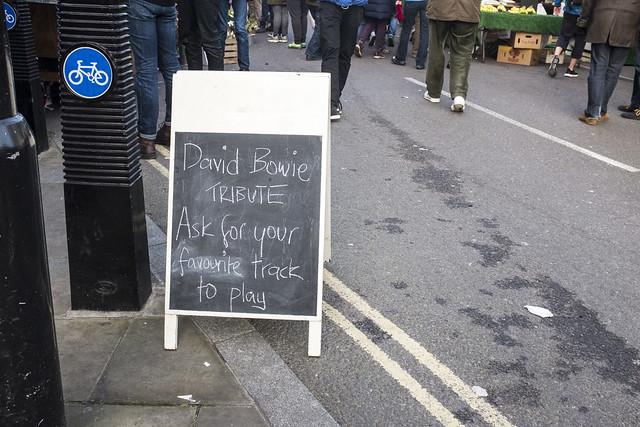 David Bowie TRIBUTE, London Fields