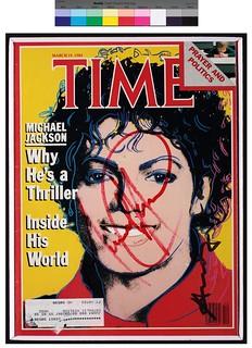 Andy Warhol - Time - Copertina Michael Jackson 1984 | Flickr