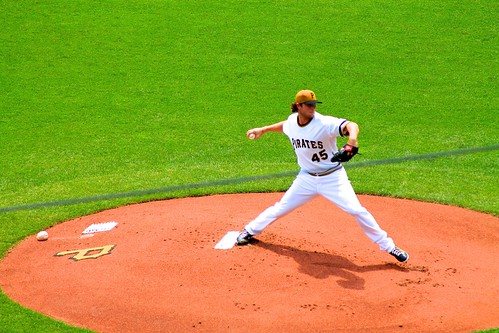 First pitch from Gerrit Cole | by jmd41280