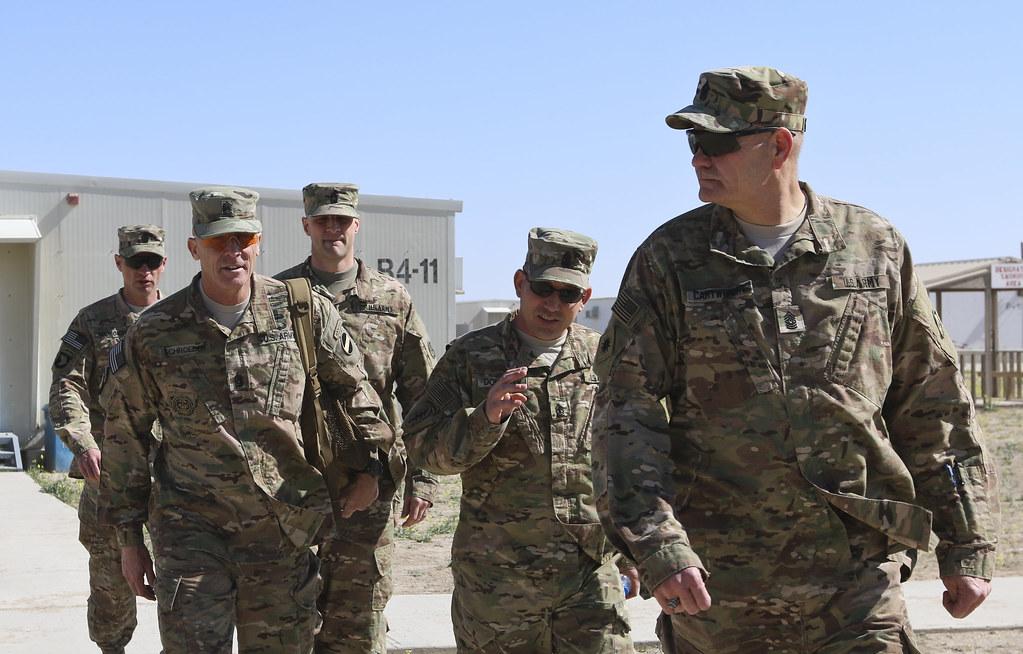 FORSCOM CSM visits BLC on Camp Buehring | Command Sgt  Maj