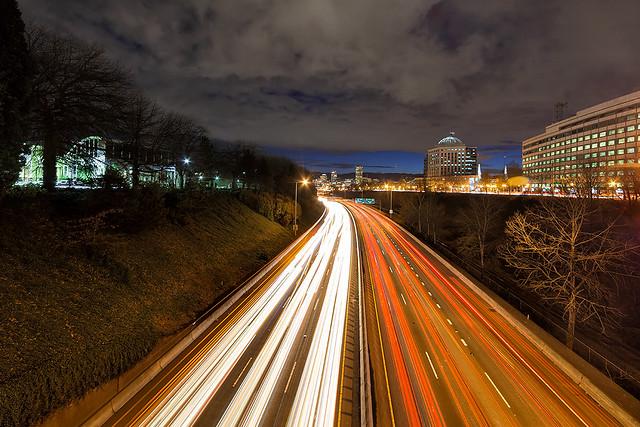 Rush Hour Light Trails