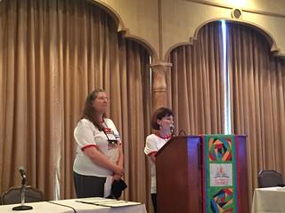 Past President Beth Olshewsky & President Sue Heraper