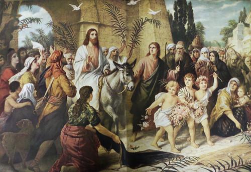 Christ's Triumphant Entry Into Jerusalem by Bernhard Plockhorst