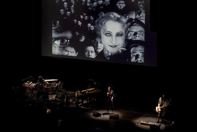 """Projekt """"Metropolis"""": Władysław Komendarek, Agnieszka Makówka, Igor Gwadera, 20.03.2016 r., Teatr Wielki w Łodzi, Łódź"""