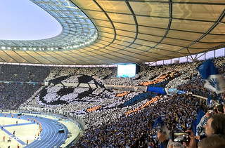 Hertha's Choreo against Dortmund | by Econet1892