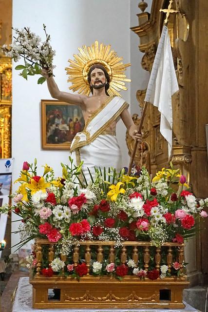 Le Christ Ressuscité dans l'église Saint Pierre (Céret)
