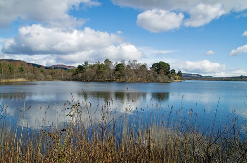 landscape cycling scotland dundee perthshire dunkeld lochofthelowes ericrobbniven