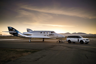 Range Rover Helps Unveil New Virgin Galactic SpaceShipTwo At Global Reveal And Naming Ceremony | by landrovermena