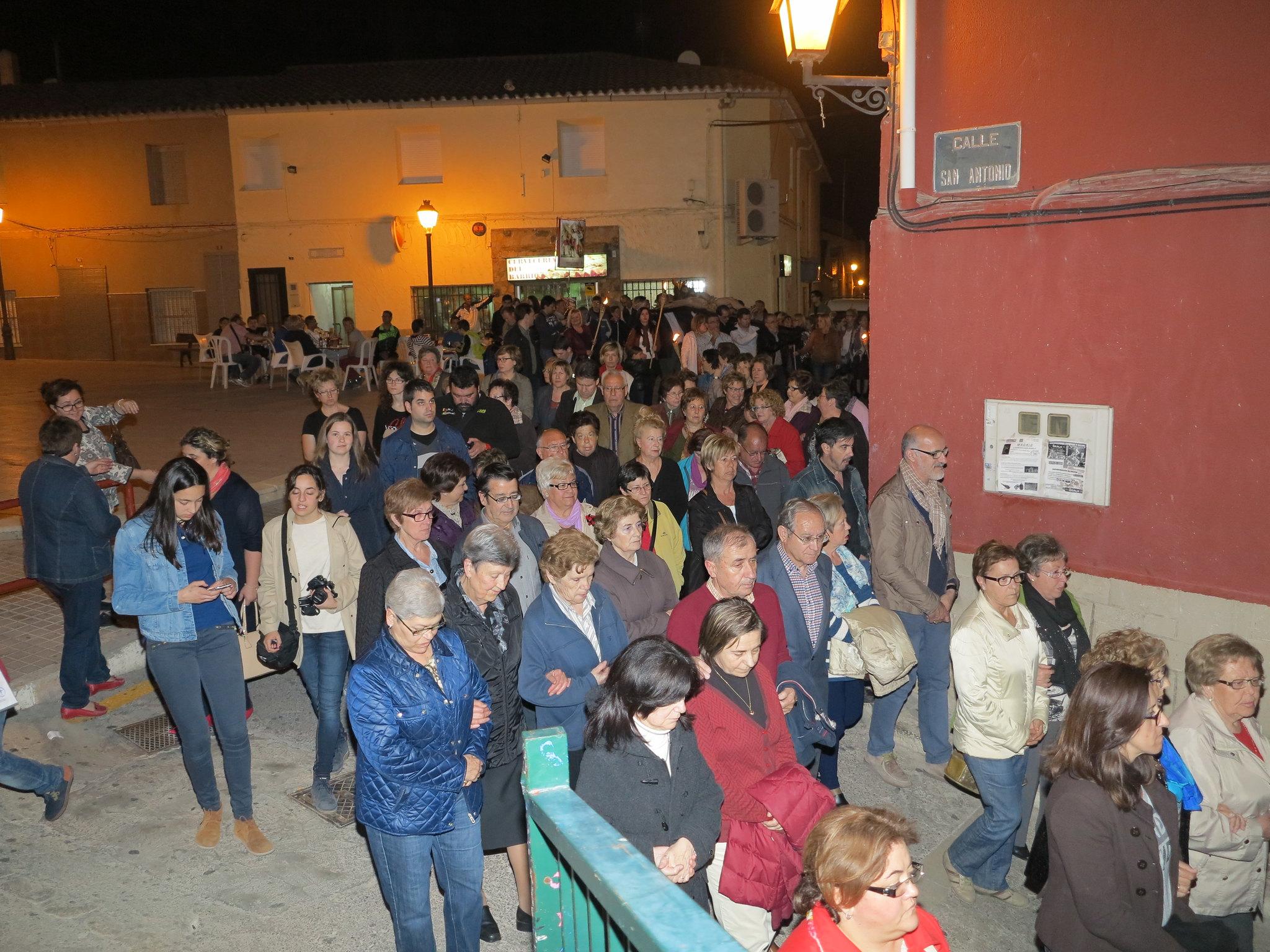 (2014-04-01) - V Vía Crucis nocturno - Antonio José Verdú Navarro (23)