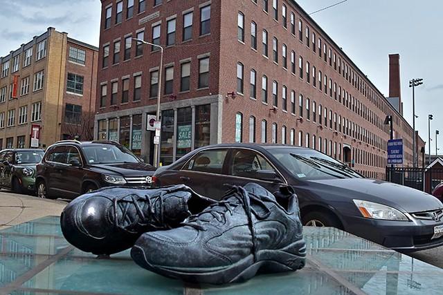 Sneaker Sculpture