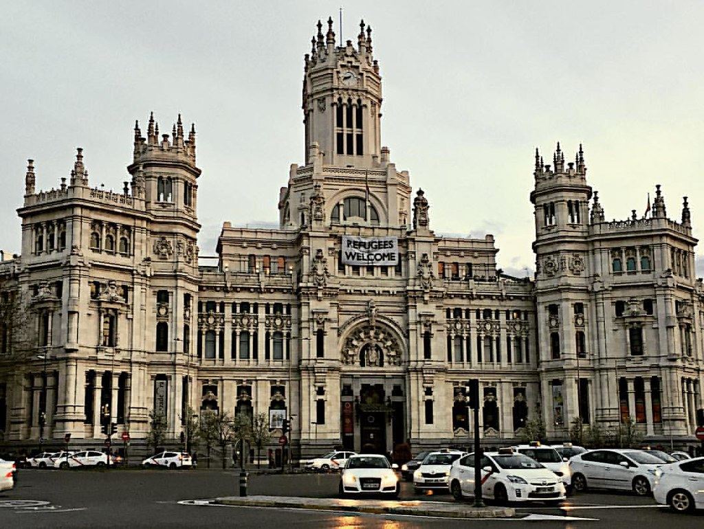 Palacio De Cibeles Madrid España Spain Travel Palace