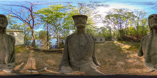 vacation sculpture house lake concrete soldier us unitedstates outdoor indian 360 missouri mold lakeoftheozarks ricoh ozark spherical degrees theta camdenton thetas theta360 saraspaedy