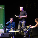 Irvine Welsh reads from The Blade Artist | © Alan McCredie