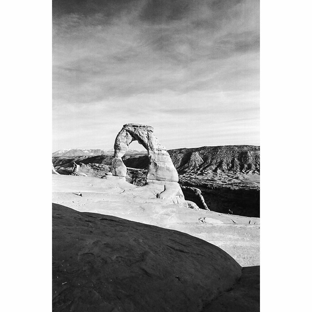 Delicate Arch - Eastman Double-x