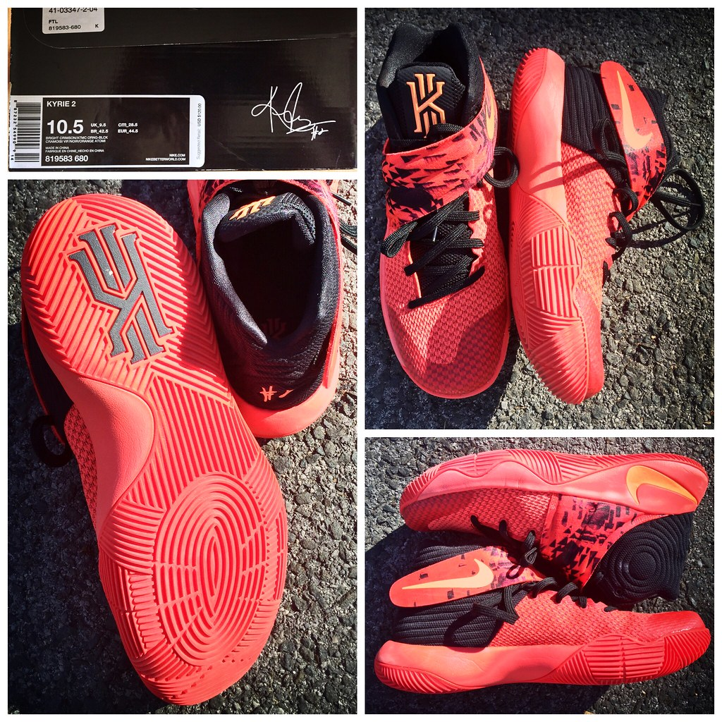 new style 5edde 89aab Been ballin' it up in my new Kyrie 2 Infernos and I'm in L ...