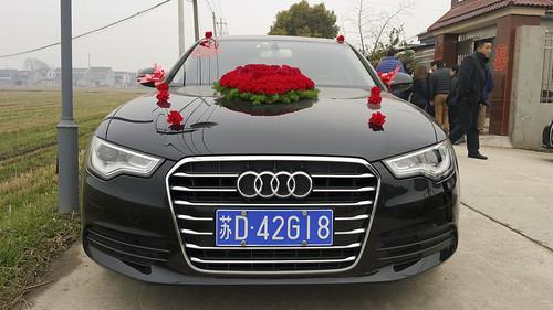 china wedding car asia audi jintan