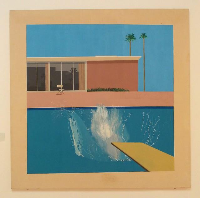 David Hockney's A Bigger Splash at Tate Britain