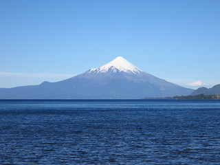 View of Volcán Osorno While Kayaking in Lago Llanquihue, near Puerto Varas, Chile | by blueskylimit